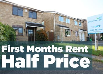 Thumbnail 3 bedroom semi-detached house to rent in Chartley Close, St. Mellons, Cardiff