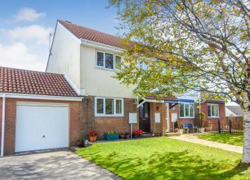 Thumbnail 3 bed semi-detached house for sale in Appledore Place, Newton, Swansea