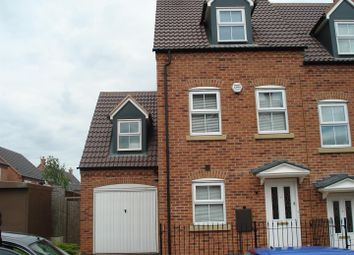 Thumbnail 4 bed town house to rent in Kingswood Close, Birmingham