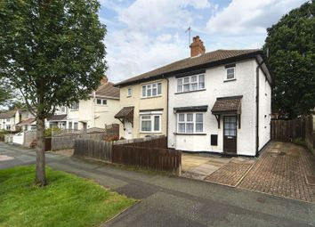 Thumbnail 3 bed semi-detached house for sale in Woodland Avenue, Tettenhall Wood, Wolverhampton