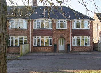 Thumbnail 5 bed semi-detached house for sale in Newmarket Road, Bury St. Edmunds