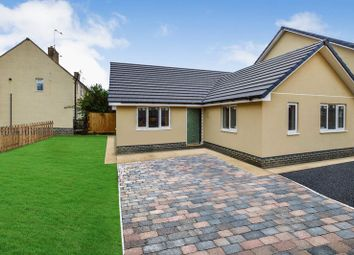 Thumbnail 3 bed detached bungalow for sale in Church Road, Wittering, Peterborough