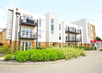 Thumbnail 2 bed flat for sale in Hawker Drive, Addlestone, Surrey