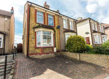 Thumbnail 4 bedroom semi-detached house for sale in Springhead Road, Northfleet, Gravesend, Kent