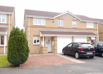 3 bed semi-detached house for sale in Overdale Court, Choppington NE62