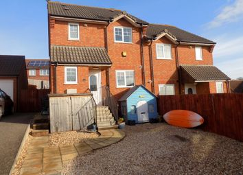 Thumbnail 3 bed semi-detached house for sale in Chaucer Rise, Exmouth, Devon