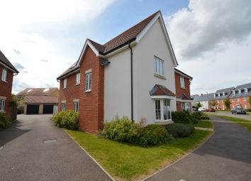 Thumbnail 4 bed detached house for sale in Burgattes Road, Dunmow