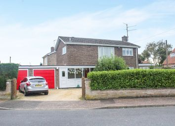 Thumbnail 4 bed detached house for sale in Meadow Road, South Wootton, King's Lynn