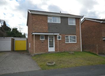 Thumbnail 3 bed detached house for sale in Queensway, Frimley Green, Surrey