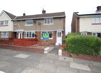 Thumbnail 2 bedroom semi-detached house for sale in Glencoe Square, Gindon, Sunderland