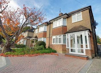 Thumbnail 3 bed semi-detached house for sale in Wood Rise, Pinner