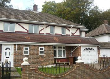 Thumbnail 4 bed semi-detached house to rent in Duchess Of Kent Drive, Walderslade, Chatham, Kent