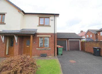 Thumbnail 2 bed semi-detached house to rent in Carleton Avenue, Fulwood, Preston