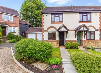 Thumbnail 2 bed semi-detached house to rent in Black Eagle Close, Westerham, Kent
