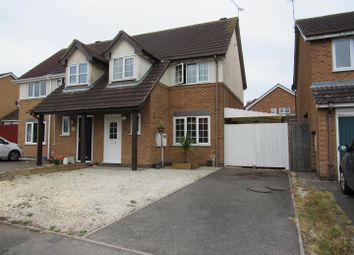Thumbnail 3 bed semi-detached house for sale in Browns Way, Whetstone, Leicester