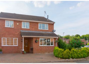 Thumbnail 4 bed detached house for sale in Tarrant, Peterborough