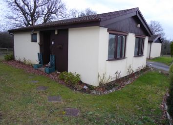 Thumbnail 2 bed mobile/park home for sale in Groveheath Court, Gambles Lane, Ripley, Surrey