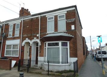 Thumbnail 4 bedroom terraced house for sale in Manvers Street, Kingston Upon Hull