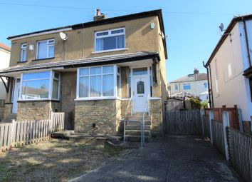 Thumbnail 2 bed semi-detached house for sale in Thornhill Grove, Shipley