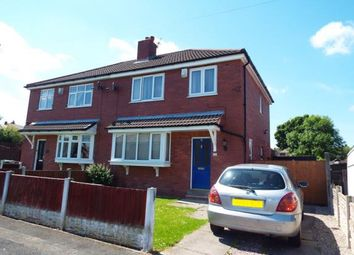 Thumbnail 3 bed semi-detached house for sale in Greenwood Avenue, Wigan, Greater Manchester
