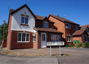 Thumbnail 3 bed detached house for sale in Orsett Close, Humberstone