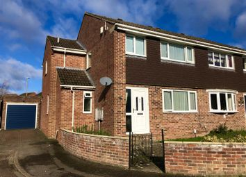Thumbnail 4 bed semi-detached house for sale in Severn Close, Henwick, Thatcham