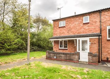 Thumbnail 2 bed end terrace house for sale in Arley Close, Church Hill South, Redditch