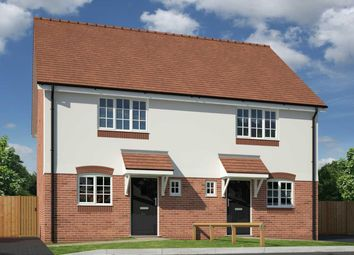 Thumbnail 2 bed semi-detached house for sale in Chantry Close, Off Poynton Road, Shawbury, Shrewsbury