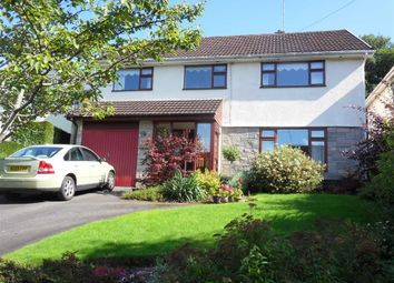 Thumbnail 4 bed detached house for sale in Ton Road, Llangybi Nr Usk, Monmouthshire
