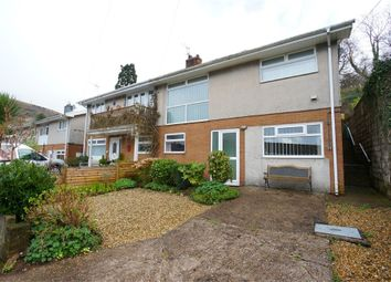 Thumbnail 3 bed semi-detached house for sale in Highfield Close, Risca, Newport, Caerphilly