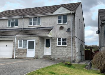 Penhale Meadow, St. Cleer, Liskeard, Cornwall PL14. 3 bed semi-detached house for sale