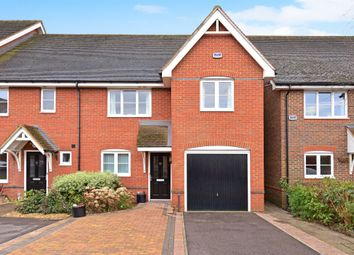 Thumbnail 4 bed semi-detached house for sale in Hermitage Green, Hermitage, Thatcham