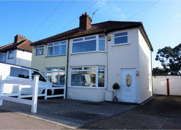 Thumbnail 3 bed semi-detached house for sale in Porthkerry Avenue, Welling