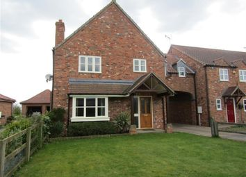 Thumbnail 4 bed link-detached house for sale in Low Street, East Drayton, Retford