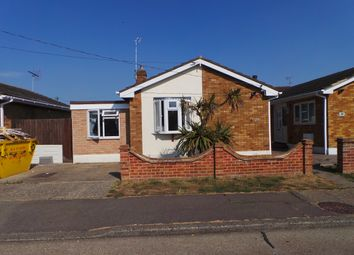 Thumbnail 3 bed detached bungalow to rent in San Remo Road, Canvey Island