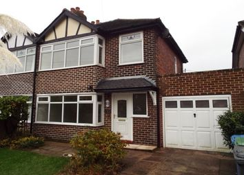Thumbnail 3 bed semi-detached house to rent in Pepper Street, Appleton Thorn, Warrington