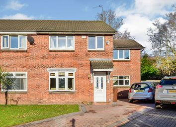 Thumbnail 4 bed semi-detached house for sale in Chudleigh Close, Bramhall, Stockport
