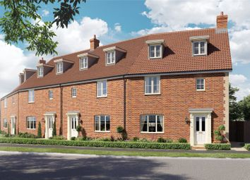 Thumbnail 3 bed terraced house for sale in Plot 12 Heronsgate, Blofield, Norwich, Norfolk