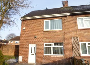 Thumbnail 2 bed semi-detached house for sale in Deneside, Seghill, Northumberland