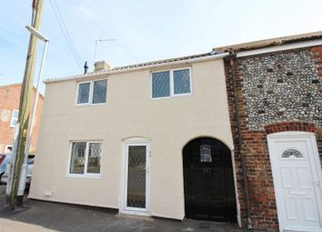 Thumbnail 3 bed end terrace house for sale in Beach Road, Caister-On-Sea