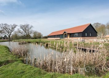 Thumbnail 5 bed barn conversion for sale in Rectory Road, Tivetshall St. Mary, Norwich
