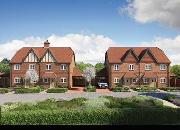 Thumbnail 3 bedroom semi-detached house for sale in The Foxcote At Eldridge Park, Bell Foundry Lane, Wokingham Berkshire