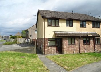 Thumbnail 1 bed end terrace house for sale in Willowturf Court, Bryncethin, Bridgend, Mid Glamorgan