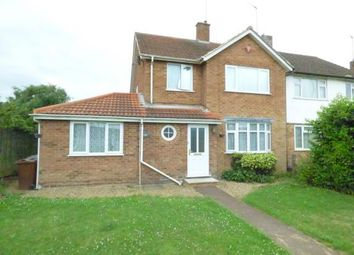 Thumbnail 4 bed semi-detached house for sale in Harlestone Road, Duston, Northampton, Northamptonshire