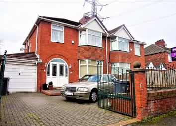 Thumbnail 3 bed semi-detached house for sale in Kingston Grove, Manchester