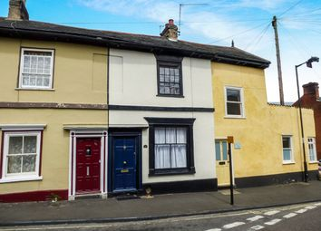 Thumbnail 2 bedroom terraced house for sale in Cannon Street, Bury St. Edmunds