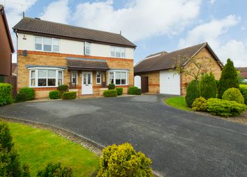 Thumbnail 4 bed detached house for sale in Templebell Close, Littleover, Derby