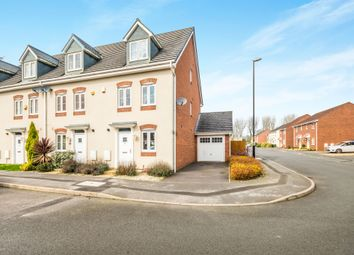 Thumbnail 4 bedroom town house for sale in Rough Brook Road, Rushall, Walsall