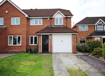 Thumbnail 3 bed semi-detached house for sale in Honingham Road, Ilkeston