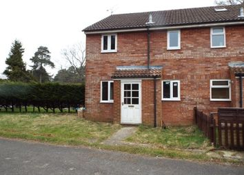 Thumbnail 1 bedroom end terrace house to rent in Wellington Avenue, Whitehill, Bordon